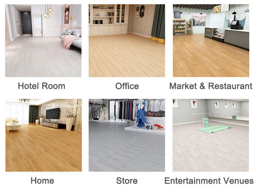 vinyl flooring applications