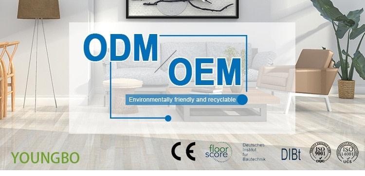 OEM vinyl flooring