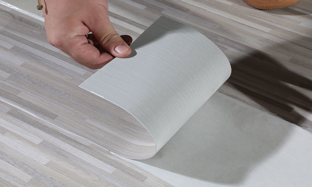 YB-M-001 PVC Vinyl Self Adhesive Flooring